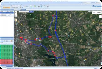 GPS-Ortung von Fahrzeugen via GPS-Satellitensignal mit den GPS-Ortungssystemen von pro|Serv